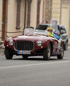 OLD CAR Ferrari 250 MM spider Vignale 1953 MILLE MIGLIA 2014