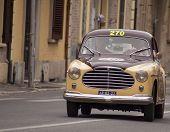 OLB CAR Moretti750 S berlinetta Alger le Cap1953 MILLE MIGLIA 2014