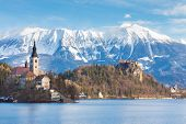 Bled, Slovenia, Europe.
