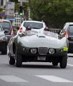 OLD CAR Arnolt Bristol Bolide 1954 MILLE MIGLIA 2014