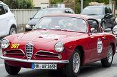 OLD CAR Alfa Romeo 1900 Super Sprint Touring 1956 mille migia 2014