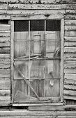 verlassenen Gebäude Fenster