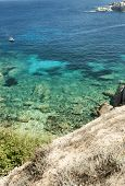 Wonderful Sea In Capo Testa