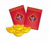 Red Envelopes and Gold Ingots for Chinese New Year
