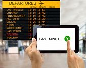 Search For Last Minute Deals In Usa Airport