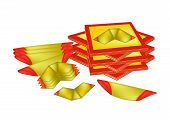 Joss Paper and Chinese Gold Paper for Chinese Celebration