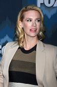 LOS ANGELES - JAN 17:  January Jones at the FOX TCA Winter 2015 at a The Langham Huntington Hotel on January 17, 2015 in Pasadena, CA