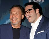 LOS ANGELES - JAN 17:  Billy Crystal, Josh Gad at the FOX TCA Winter 2015 at a The Langham Huntington Hotel on January 17, 2015 in Pasadena, CA