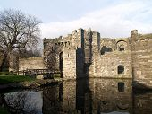 Beaumaris Castle On Angelsey North Wales