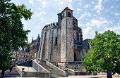 Templar Castle In Tomar. Portugal