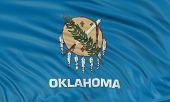 3D Oklahoma Flag