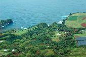 Big Island aerial shot - hilo coastline