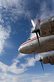 Restored Vintage Airplane Dc-3