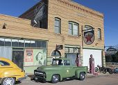 A 50S Ford Army Truck, Lowell, Arizona