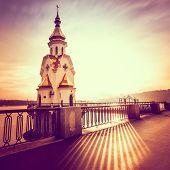 Church of St. Nicholas on the waters in Kiev, Ukraine
