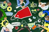Diversity Casual People Branding Marketing Planning Concept