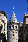 Part Of Galata Tower