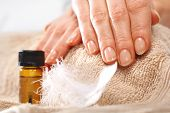 Healthy well groomed nails natural beauty.