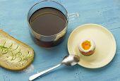 Breakfast Soft Boiled Egg