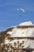 Paragliding In Swiss Alps
