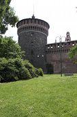 Milan Sforza Castle tower