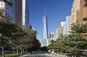 New York, Usa - Freedom Tower In Lower Manhattan