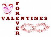 Постер, плакат: forever valentines