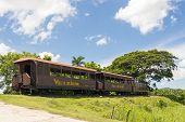 Tourist Train In El Valle De Los Ingenios,cuba
