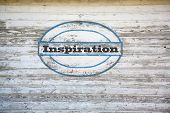 Inspiration on shed side