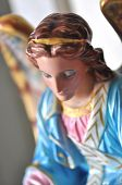 Ceramic Angel Statuary Christianity