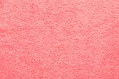 Abstract Background Close Up Pink Fabric Texture