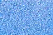 Abstract Background Close Up Blue Fabric Texture