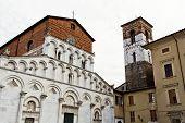 Lucca Church Of Santa Maria Forisportam