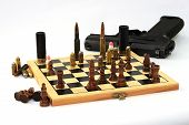 gute chess game, a dangerous game, war game