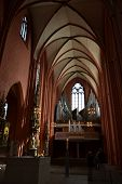 Frankfurt am Main, Germany, Cathedral inside