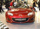 Mazda MX-5 car on Belgrade car show