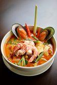 Seafood Tomyam