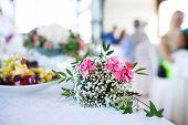 Decorative Bouquet At A Wedding
