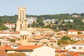 Aerial view of Aix-en-Provence, France
