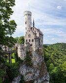 Lichtenstein castle in germany