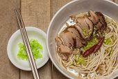Noodle With Stewed Pork