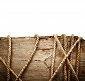 Wooden Board With Rope
