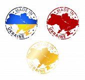 Made In Ukraine Stamp