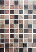 Brown Colored Mosaic Tiles