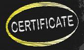 Certificate Blackboard