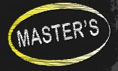 Masters Blackboard