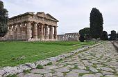 Temples In Paestum, Italy