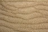 picture of blown-up  - close up view beach sand background texture - JPG