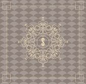 pic of hexagon pattern  - Vintage vector pattern - JPG
