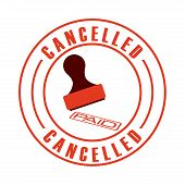 foto of abort  - cancelled seal design - JPG